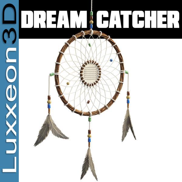 native dream catcher 3d model