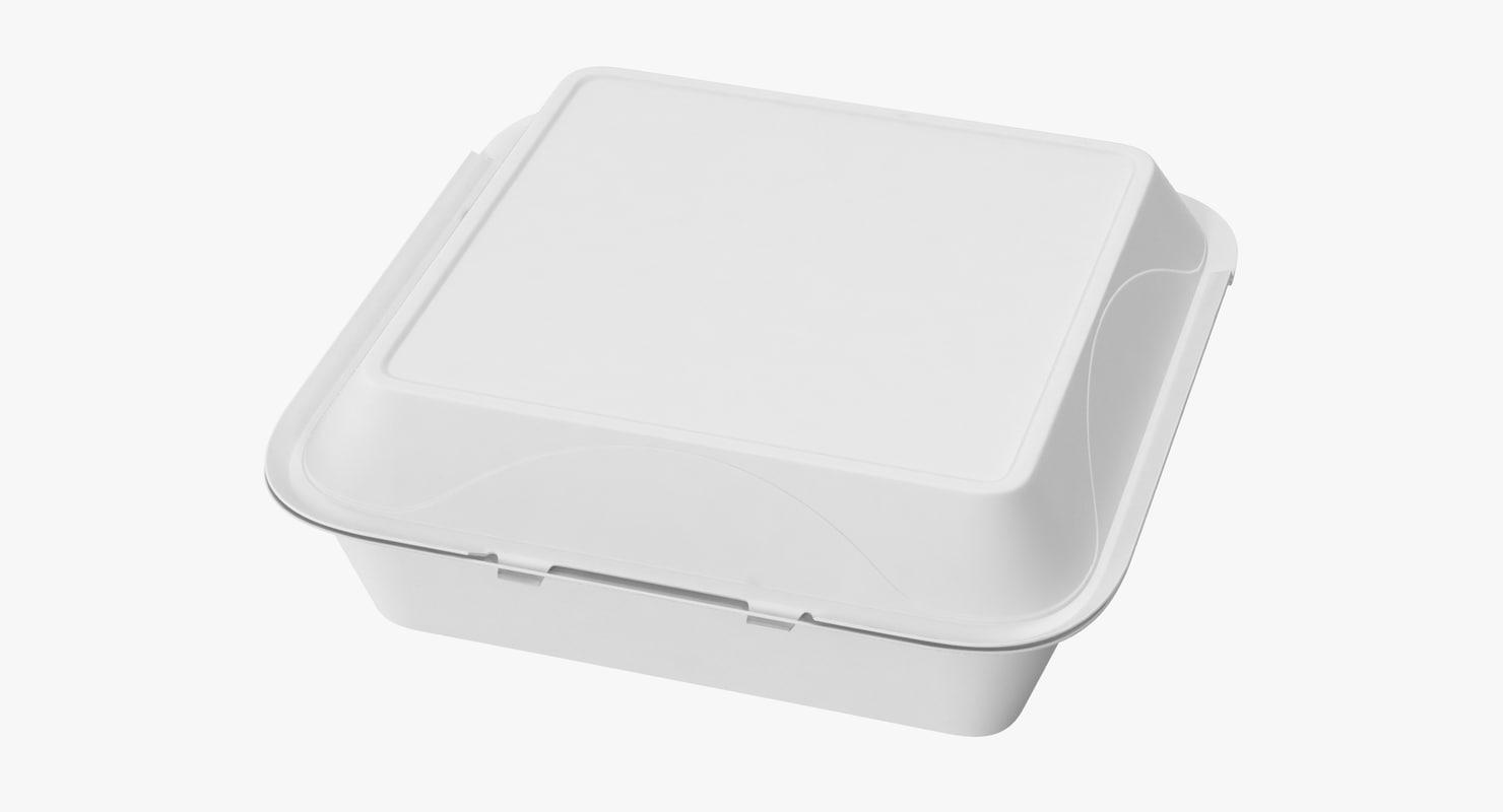 max styrofoam box closed