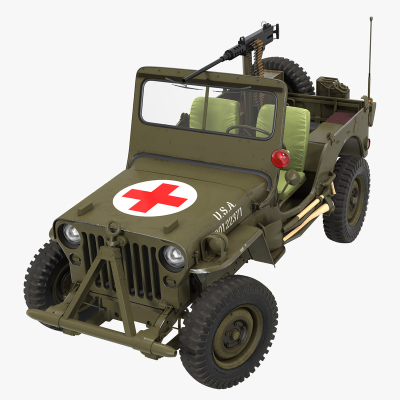 army jeep willys ambulance max