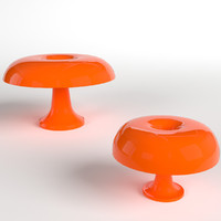 pbr uv-unwrapped nesso lamps 3d model
