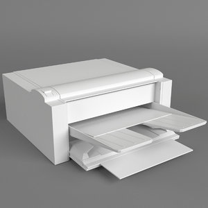 computer printer 1 fbx