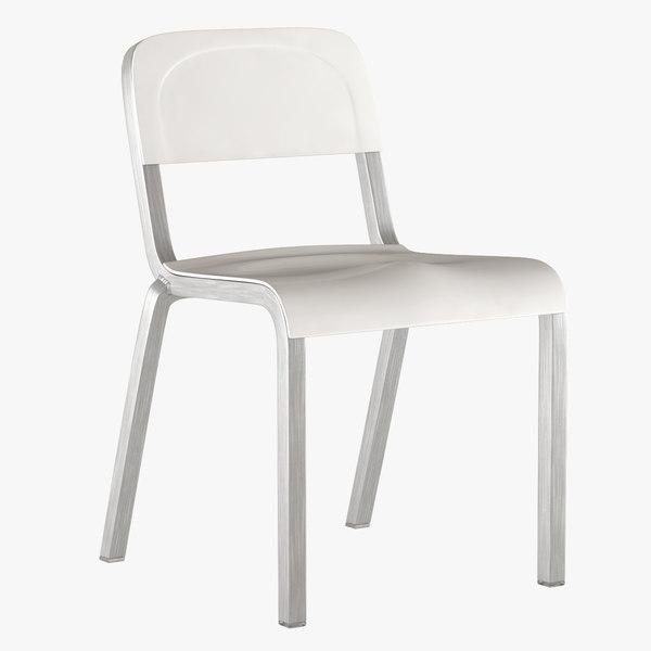 3d chair emeco