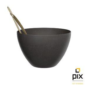 3d model of bowl utensils