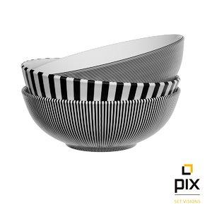 stack bowls 3d max