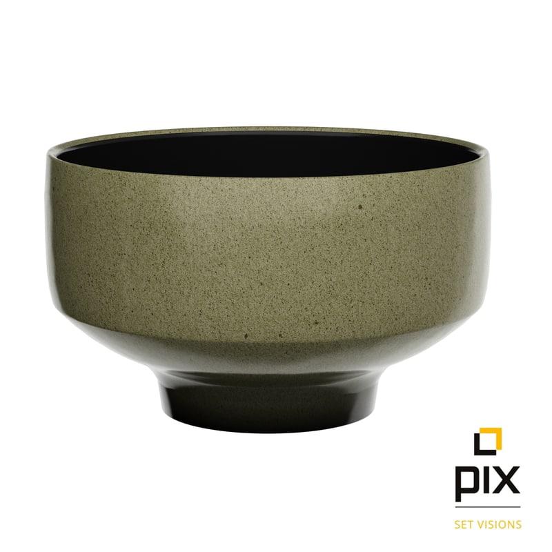 bowl earthen ware 3d model