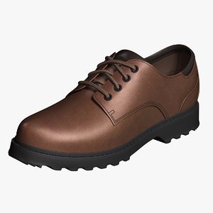 3ds oxford shoes dark brown