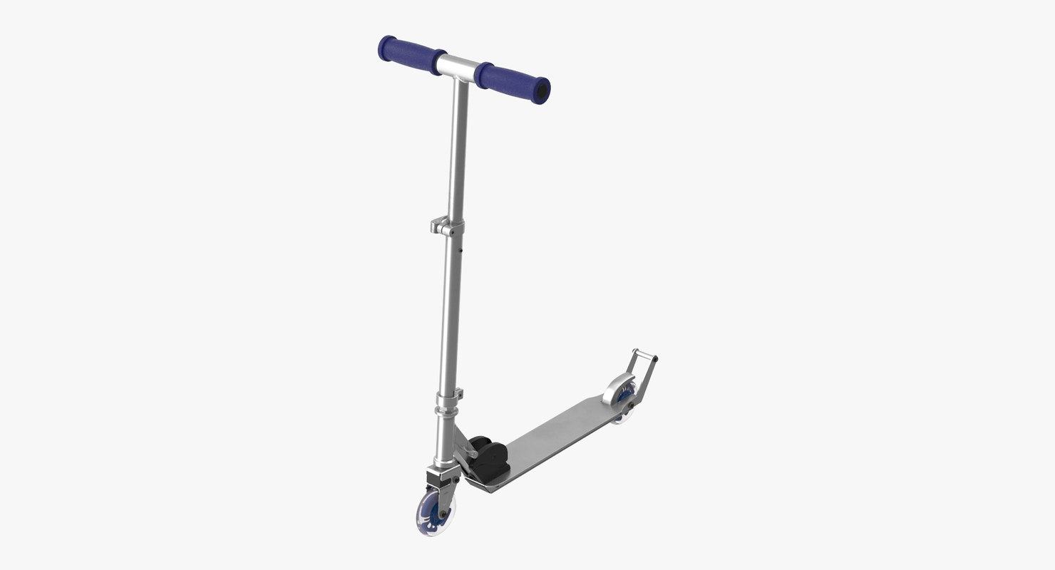 3d model scooter games