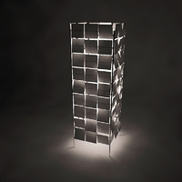 3d cubrik floor lamp