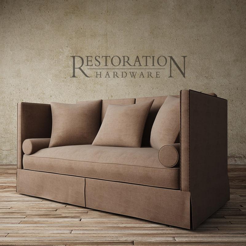 3d model morrison sofa