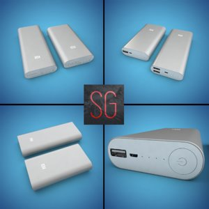 3d 3ds xiaomi mi power bank