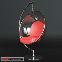 3d model chair eero aarnio