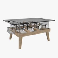 Foosball Table Teckell-Intervallo mini-baby