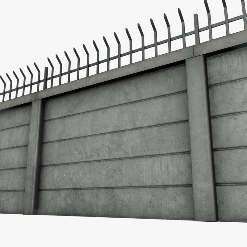 modular wall obj