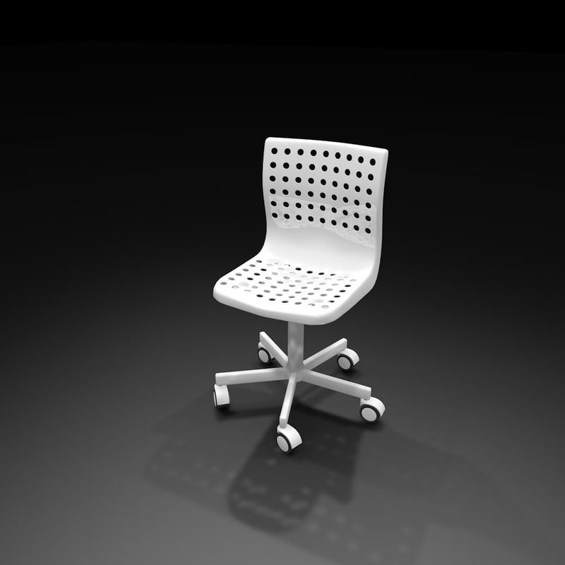 3d ikea chair office