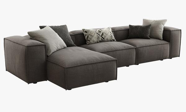 dall agnese comfort comp 3d model