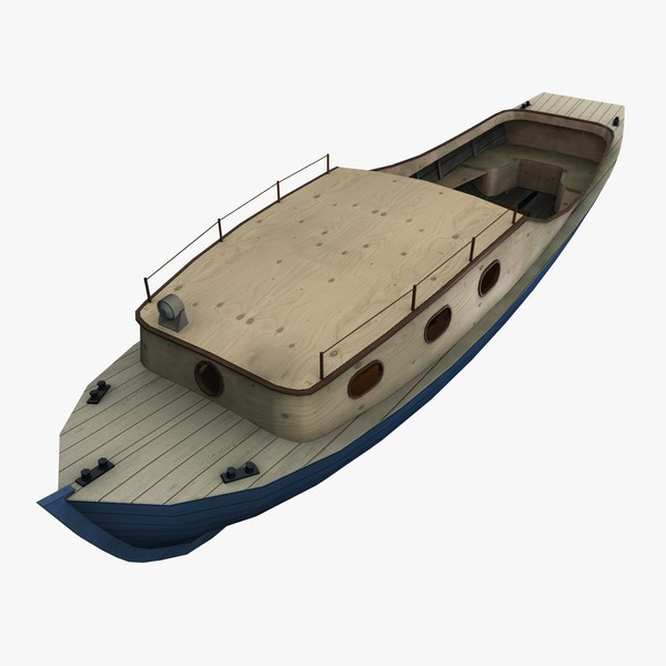 3d river launch model