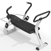 precor abdominal trainer equipment 3d fbx