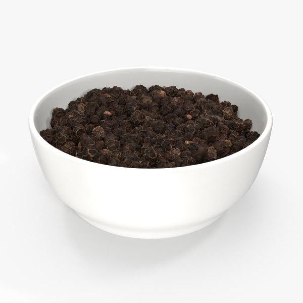 max bowl black peppercorns