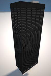 liberty plaza v-ray 3d max