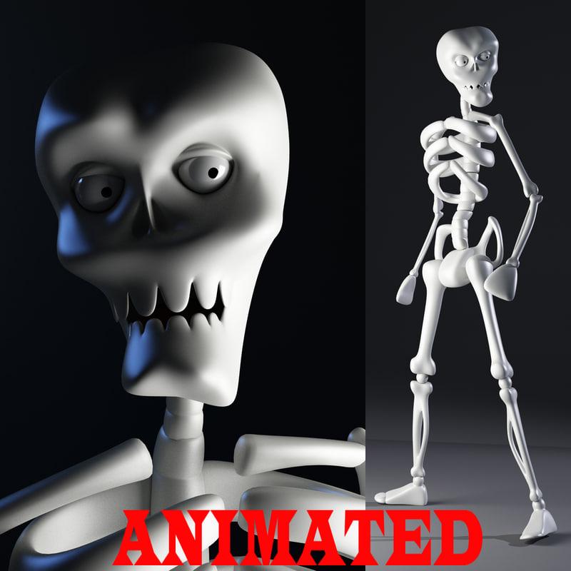 3d biped ready animation model
