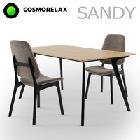 3d model of cosmorelax sandy