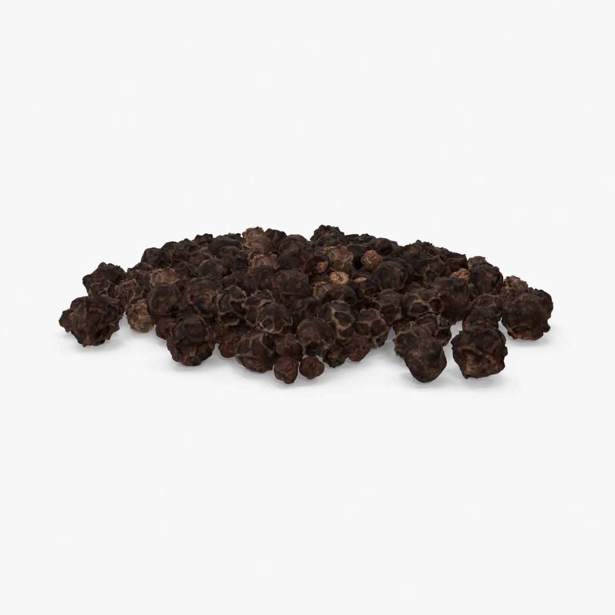 black peppercorns 3d max