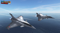 mobile dassault rafale jet fighter 3d model