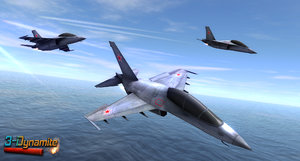 mobile yakovlev yak130 jet fighter 3d model