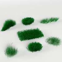 Grass / Weed Pack (7 objects)