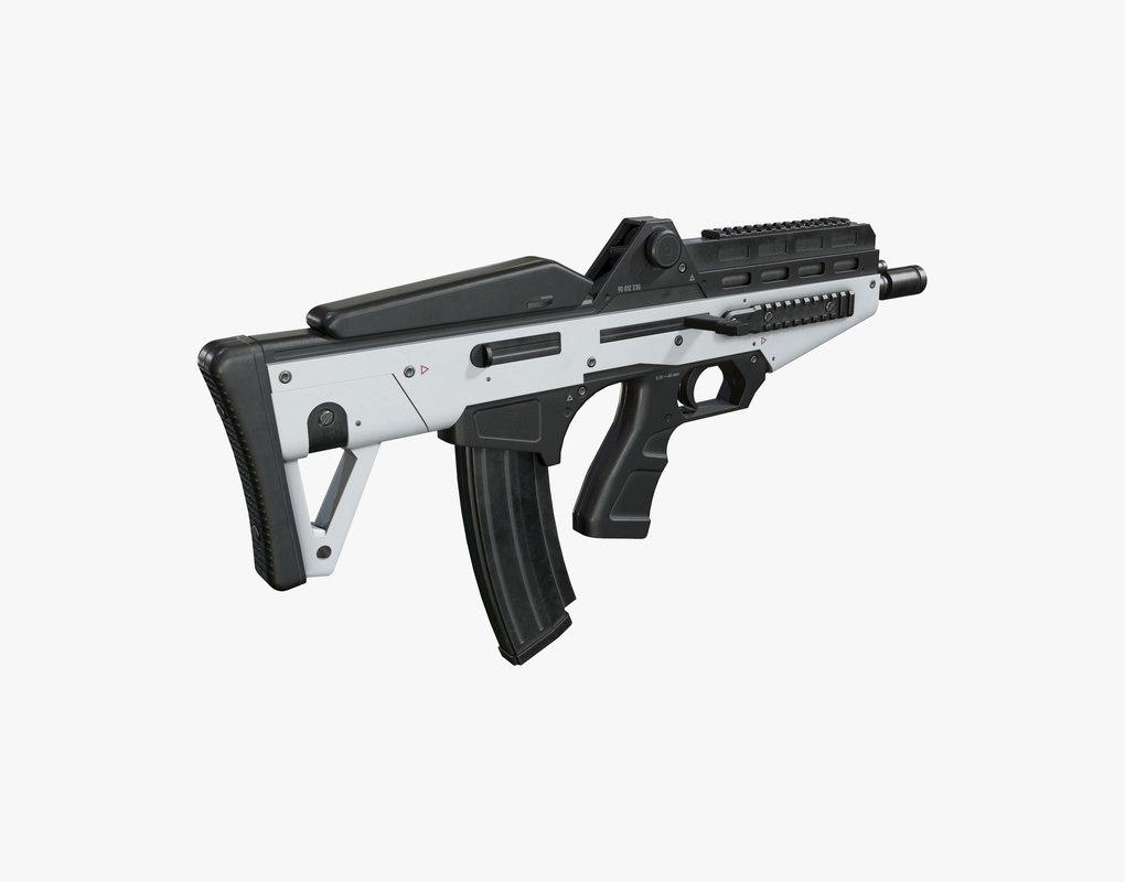 max sci fi gun