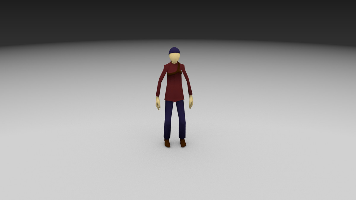 game charecter fbx free