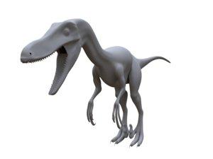 obj velociraptor