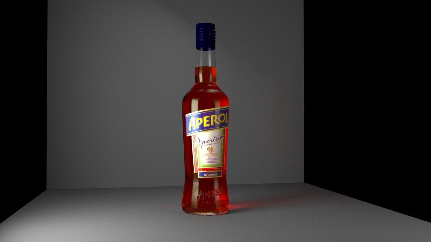 x aperol bottle hd