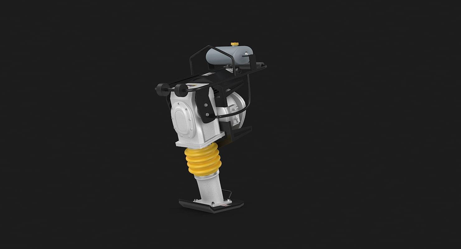 tamp jackhammer 3ds