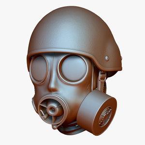 zbrush ac900 kevlar helmet 3ds