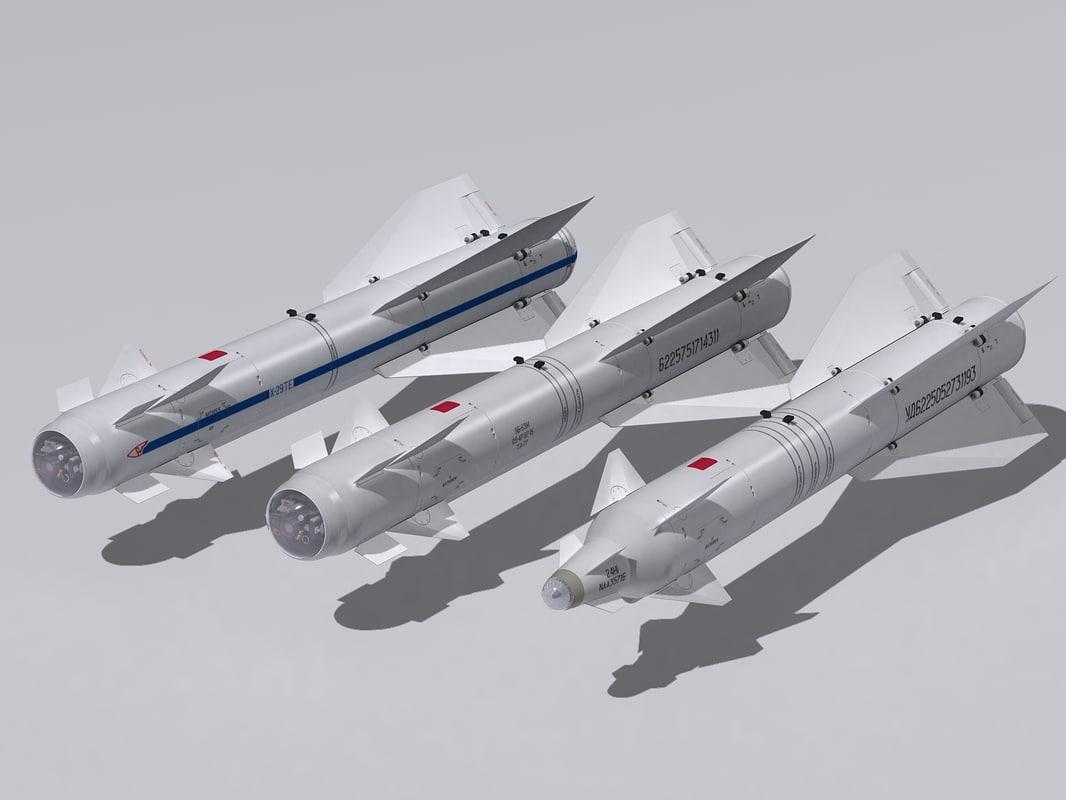 3d kh-29 family model