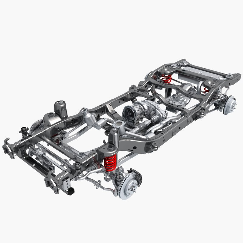 3d suv chassis