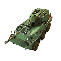 3d max ptl02 tank destroyer