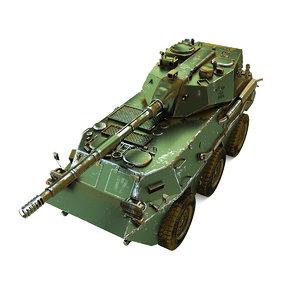 3d max ptl02 tank destroyer