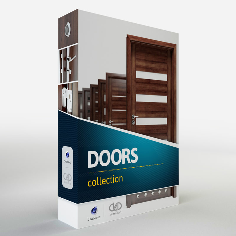 3d modern doors