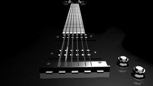 bc rich warlock guitar fbx