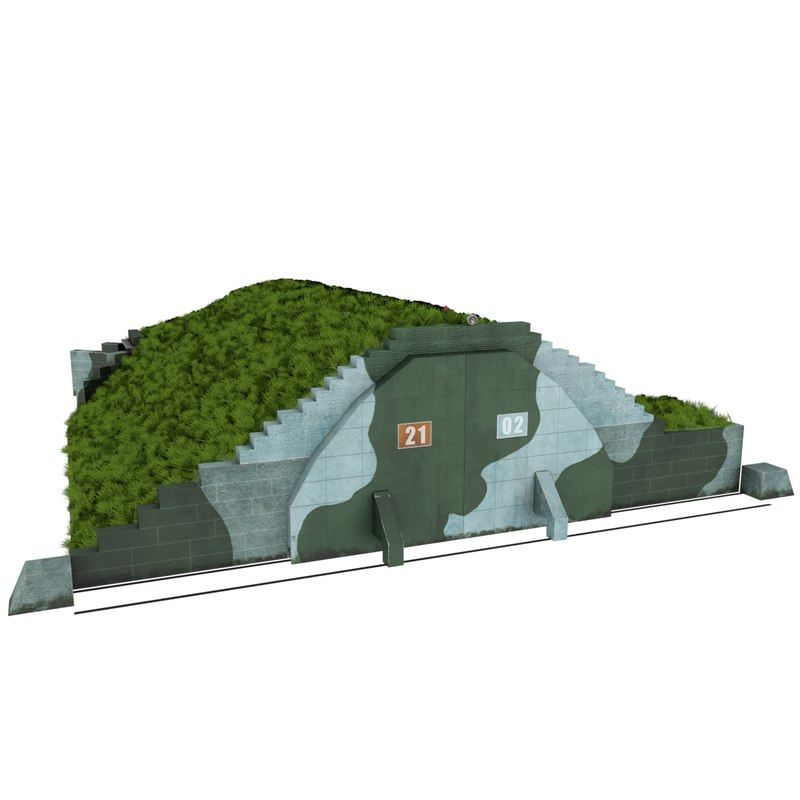 3d model of arch shelter