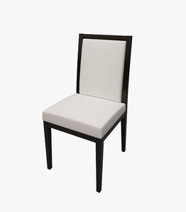 chair dining 3d max