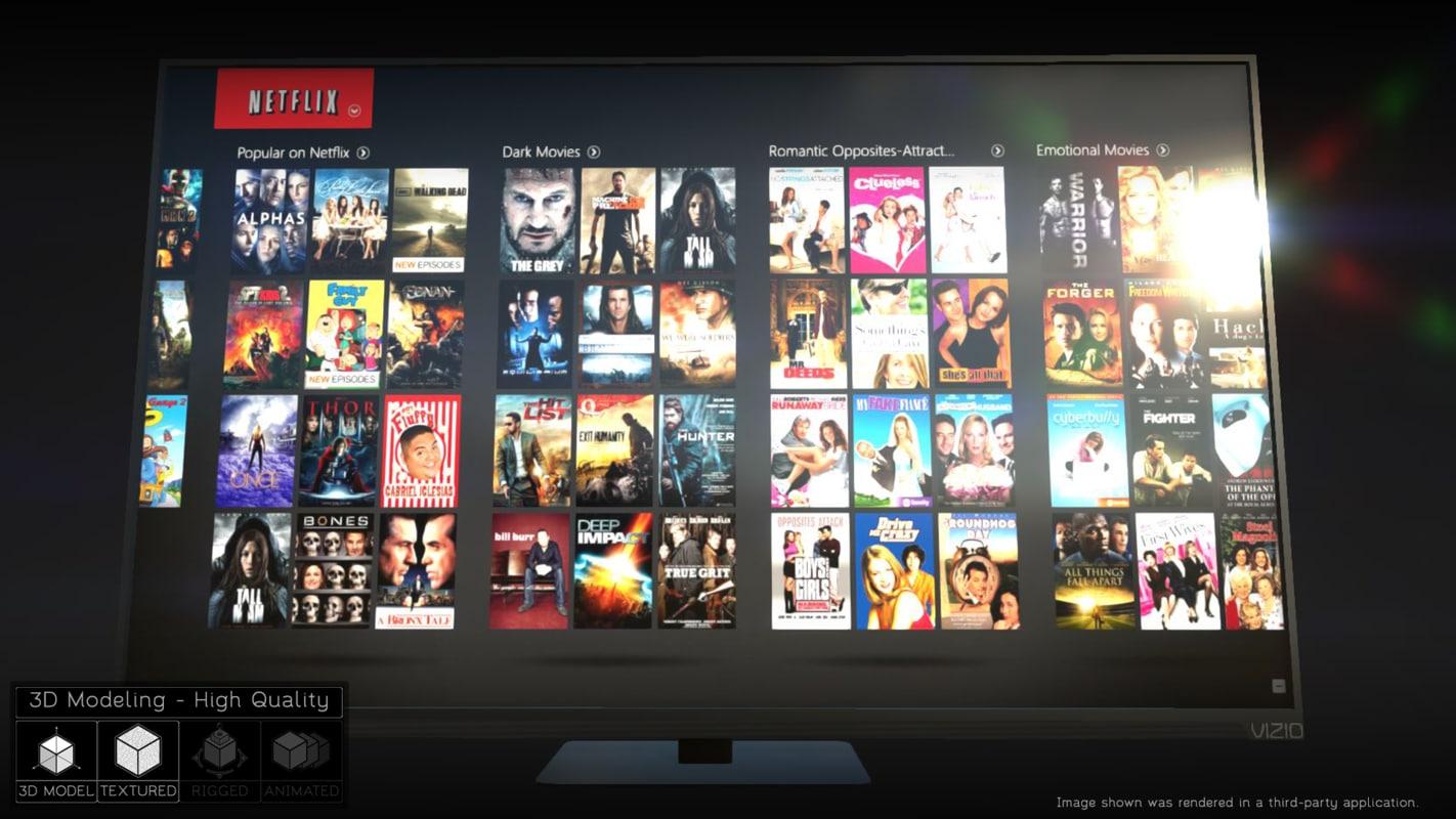 3d x hdtv tv