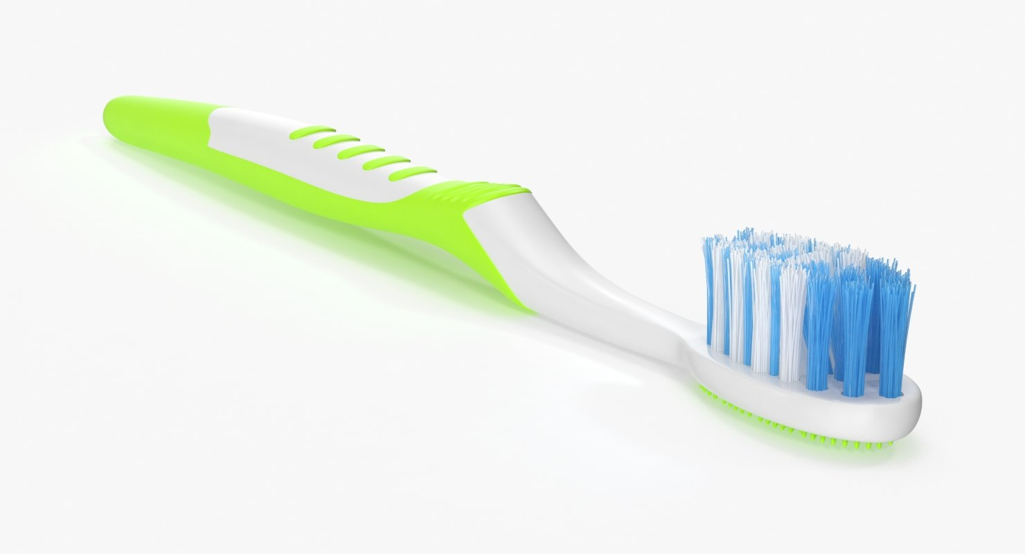 3d toothbrush 02 green