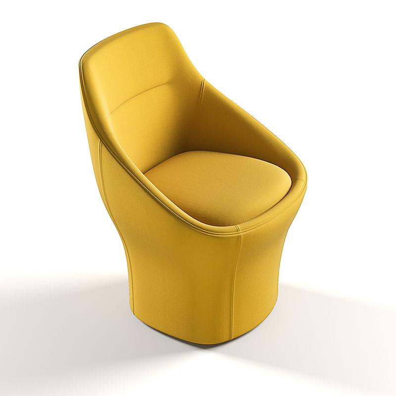 3d model offecct ezy easy chair