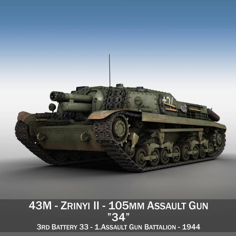 3d model 40 43 m zrinyi