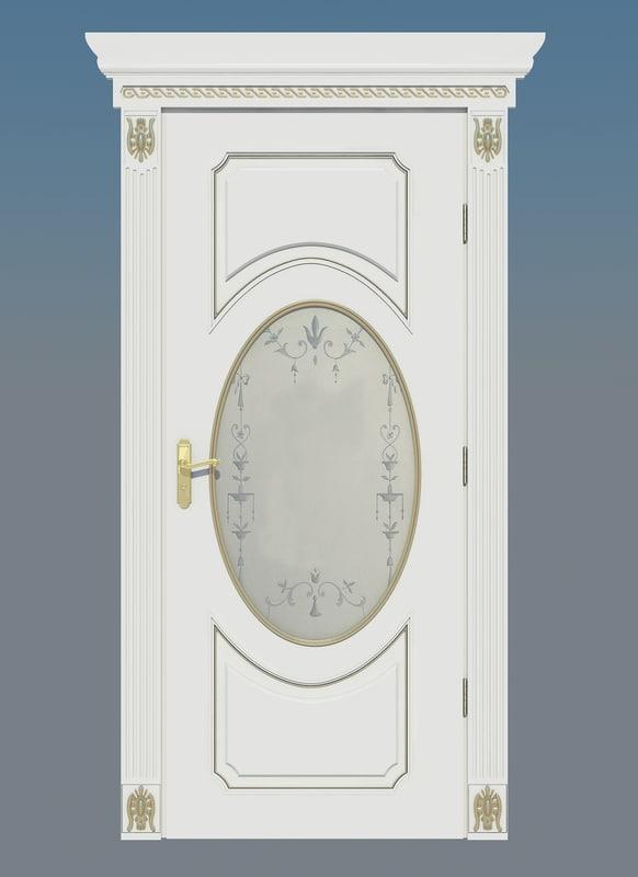 Italian door flex porte 3d max for Porte 3ds max