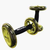 3d model ab trainer wheels