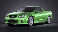 3d model holden ve ii